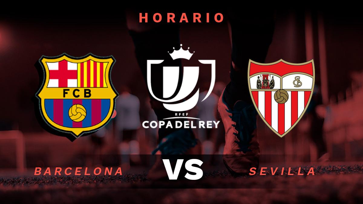 Copa del Rey 2020-2021: Barcelona – Sevilla | Hora y dónde ver el partido de semifinales de la Copa del Rey.