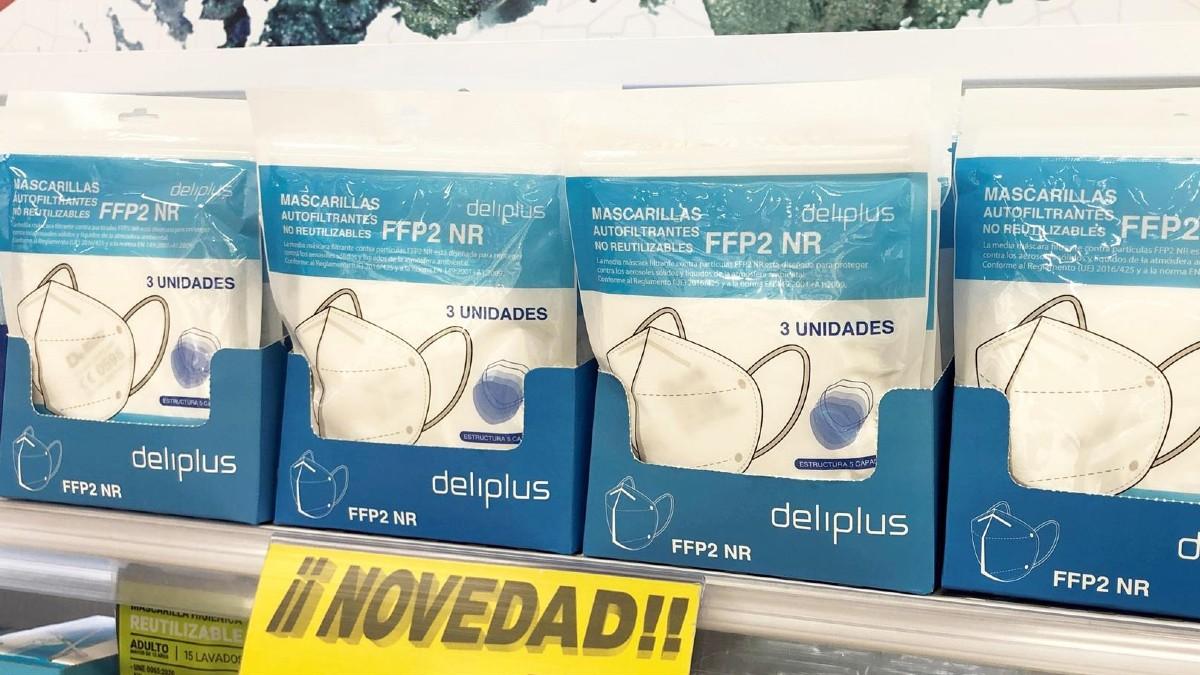 Mercadona inicia la venta de mascarillas FFP2 en sus supermercados