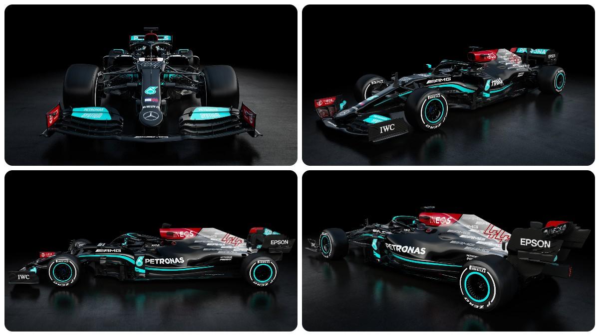 Mercedes presenta el coche