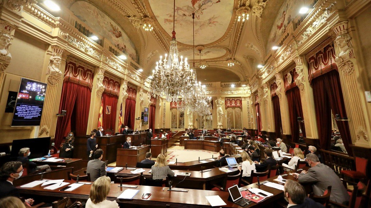 El Parlamento balear.