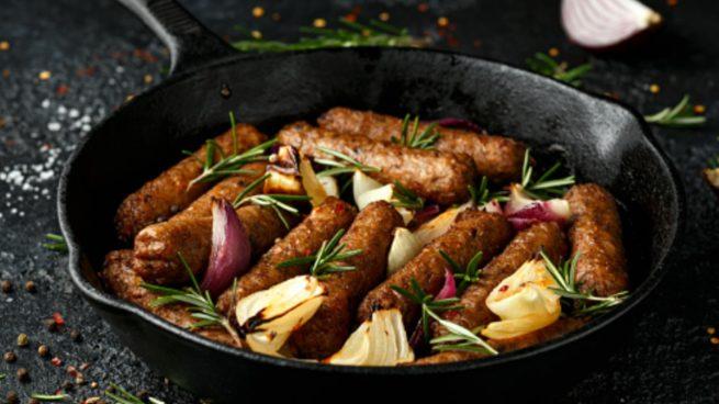 Receta de salchichas veganas caseras fáciles de preparar