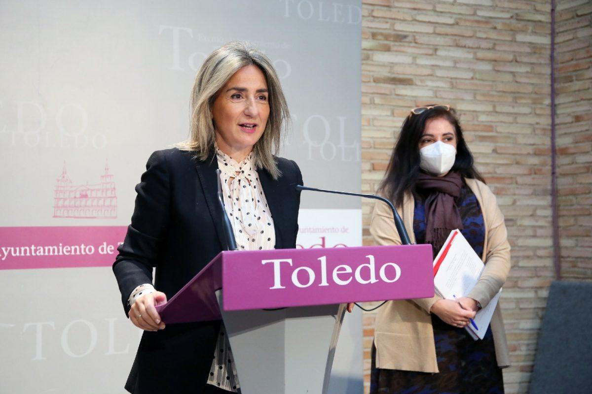La alcaldesa de Toledo, Milagros Tolón. (Foto: Ayto. Toledo)