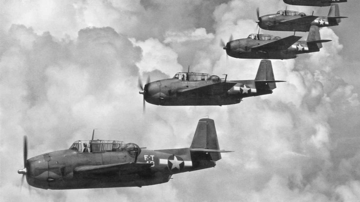 El vuelo 19 originó el mito del Triángulo de las Bermudas