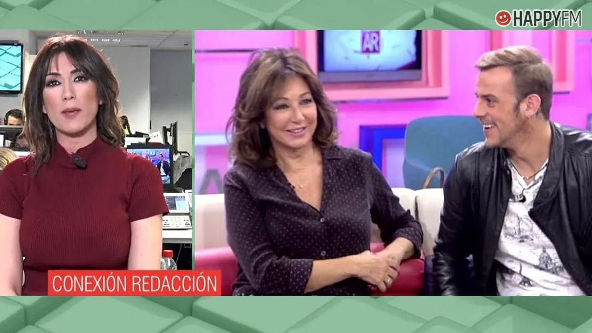 Ana Rosa Quintana y Álex Casademunt