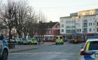 Escena del ataque terrorista en Suecia (Imagen: SVT)