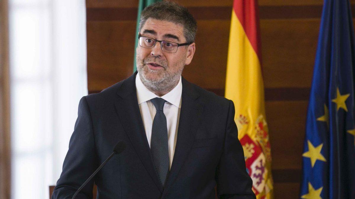Toma de posesión del presidente de la Cámara de Cuentas de Andalucía