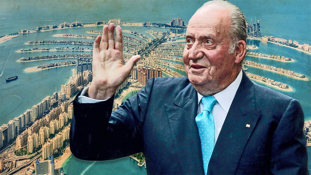 El Rey emérito,Juan Carlos I.