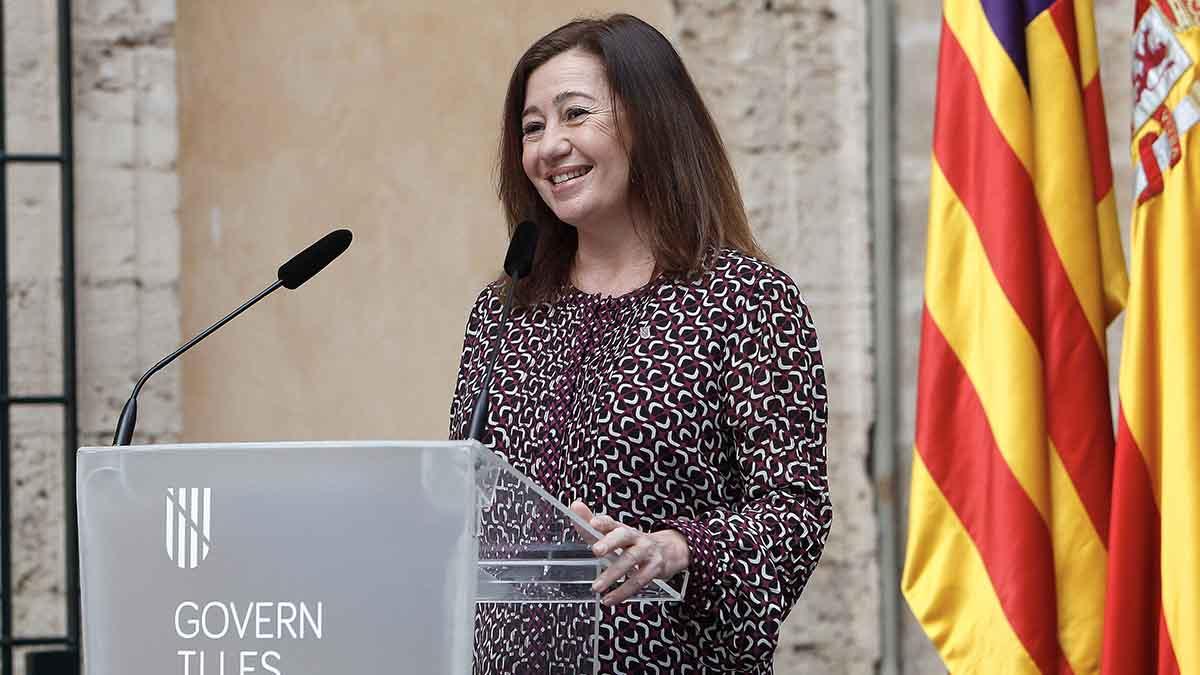 La presidenta del Govern, Francina Armengol. Foto: EP