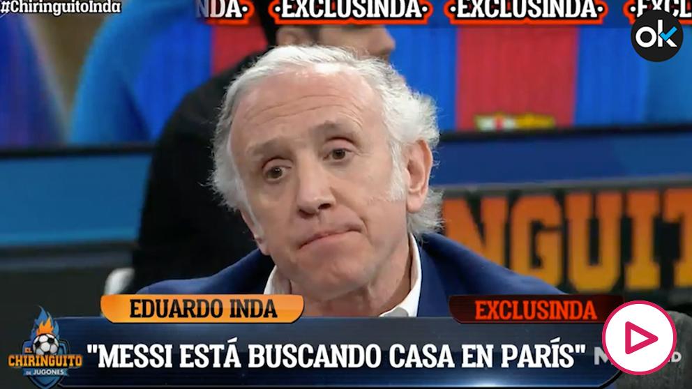 Inda: «Messi está buscando casa en París».