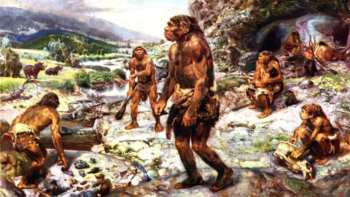 Imagen de los neandertales