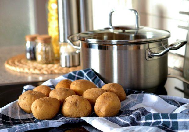 Receta de pastel de patata y queso fácil de preparar
