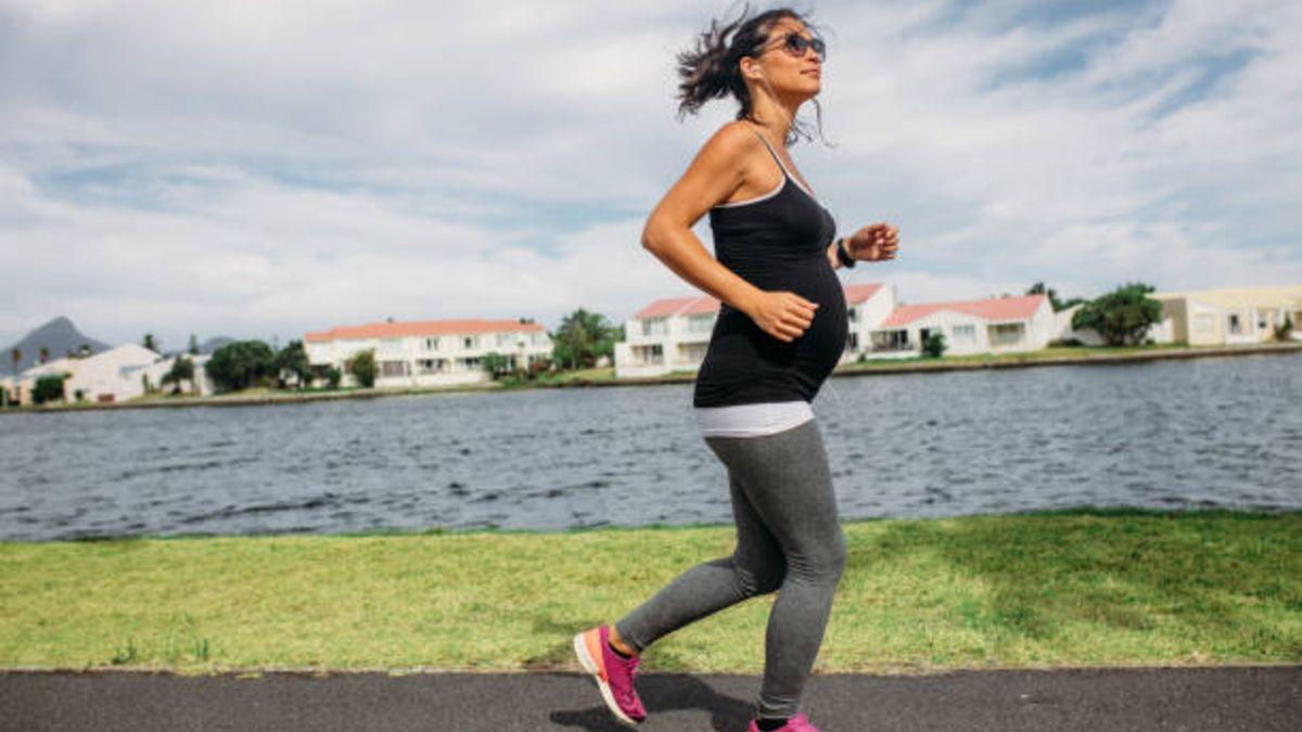 Los pros y los contras de correr durante el embarazo