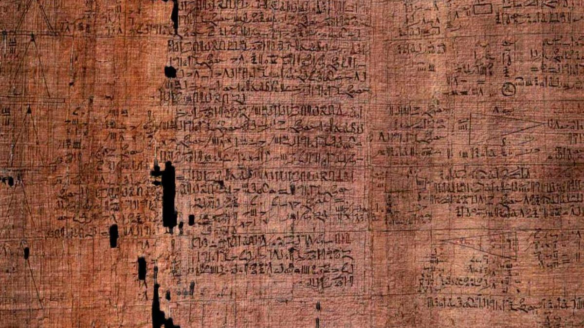 Papiro de Rhind de Egipto