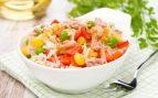 Receta de ensalada de arroz con atún fácil de preparar