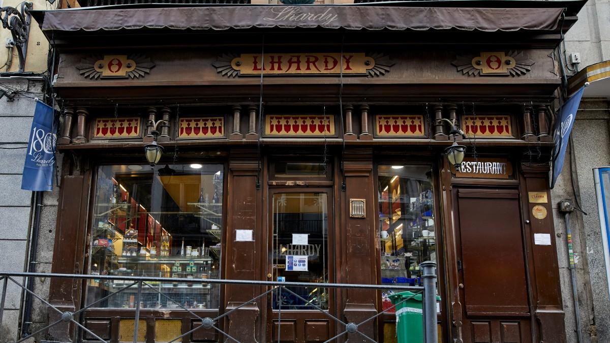 El restaurante Lhardy, en Madrid (España)