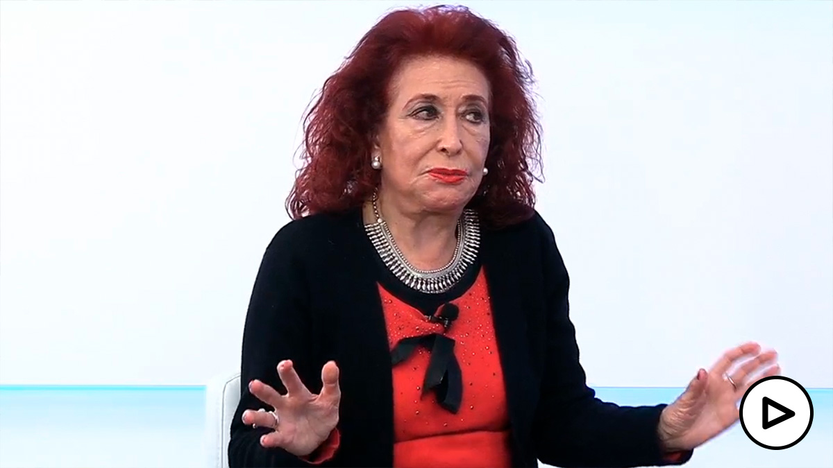 La presidenta del Partido Feminista, Lidia Falcón, en HOY RESPONDE
