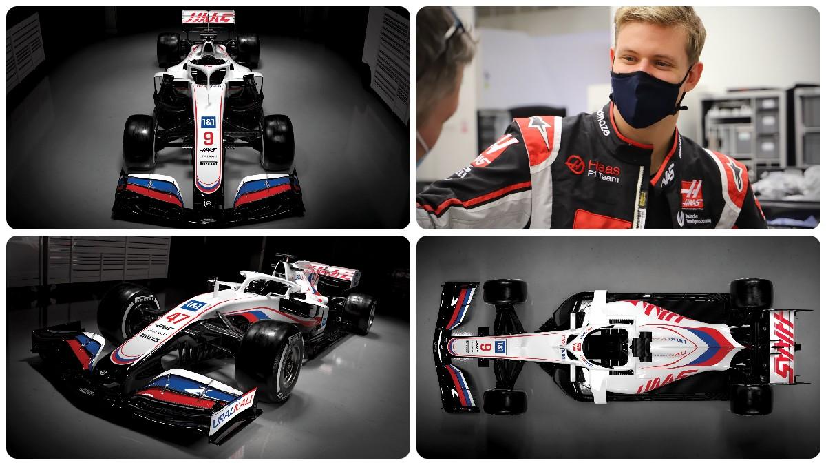 Presentado el nuevo Haas de Mick Schumacher.