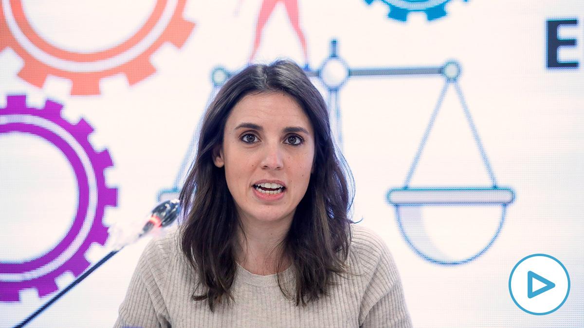 Irene Montero dice que en la prohibición del 8M hay «una criminalización del feminismo».