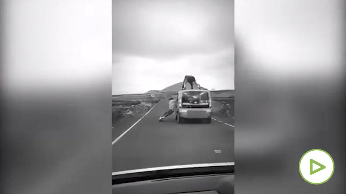Investigan a tres hombres por conducción temeraria en Lanzarote