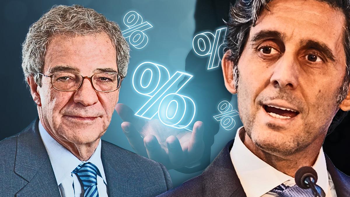 César Alierta y José María Álvarez-Pallete, ex presidente y presidente de Telefónica, respectivamente.