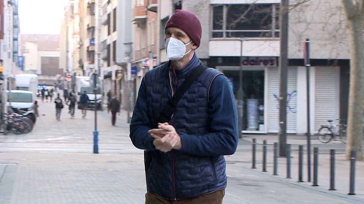 Primer día de trabajo de Iñaki Urdangarin en el bufete de abogados en Vitoria. Foto: EP