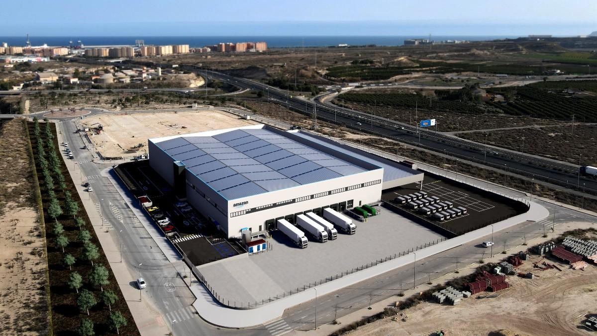 Amazón anuncia una estación logística en Alicante para verano de 2021