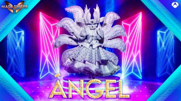 Ángel es una de las nuevas máscaras de 'Mask Singer 2'