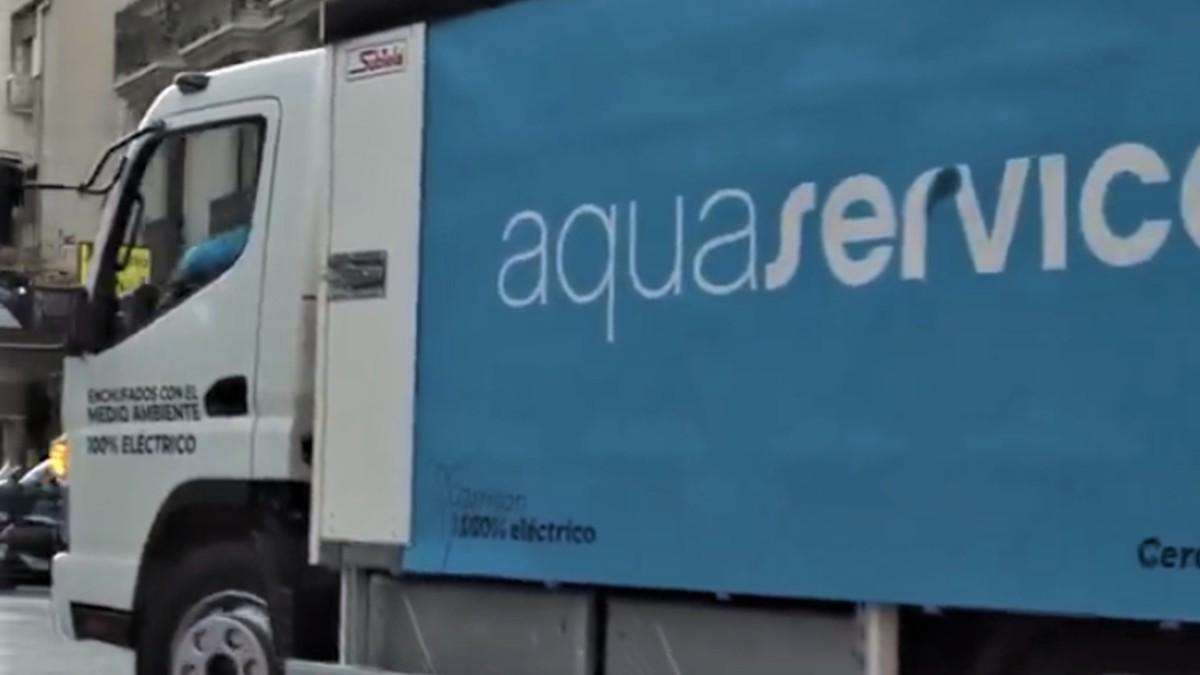 Aquaservice lanza en España el primer camión de reparto urbano 100% eléctrico