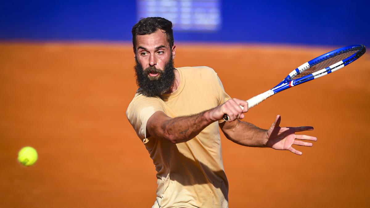 Benoit Paire, en el torneo de Buenos Aires (Getty)