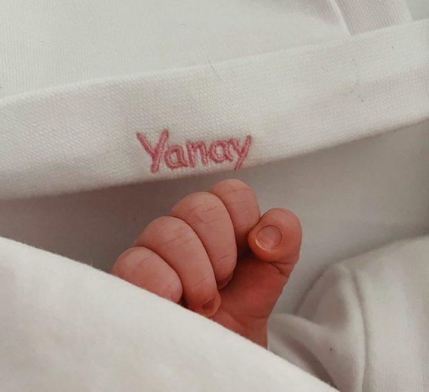 Yanay es el nombre de la primera hija de Edurne y De Gea