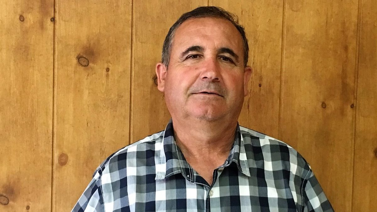 Alonso Segura, alcalde de IU en Cúllar.