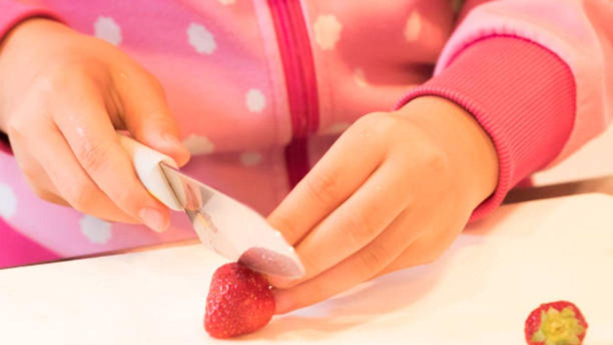 Pautas para que los niños aprendan a usar bien el cuchillo