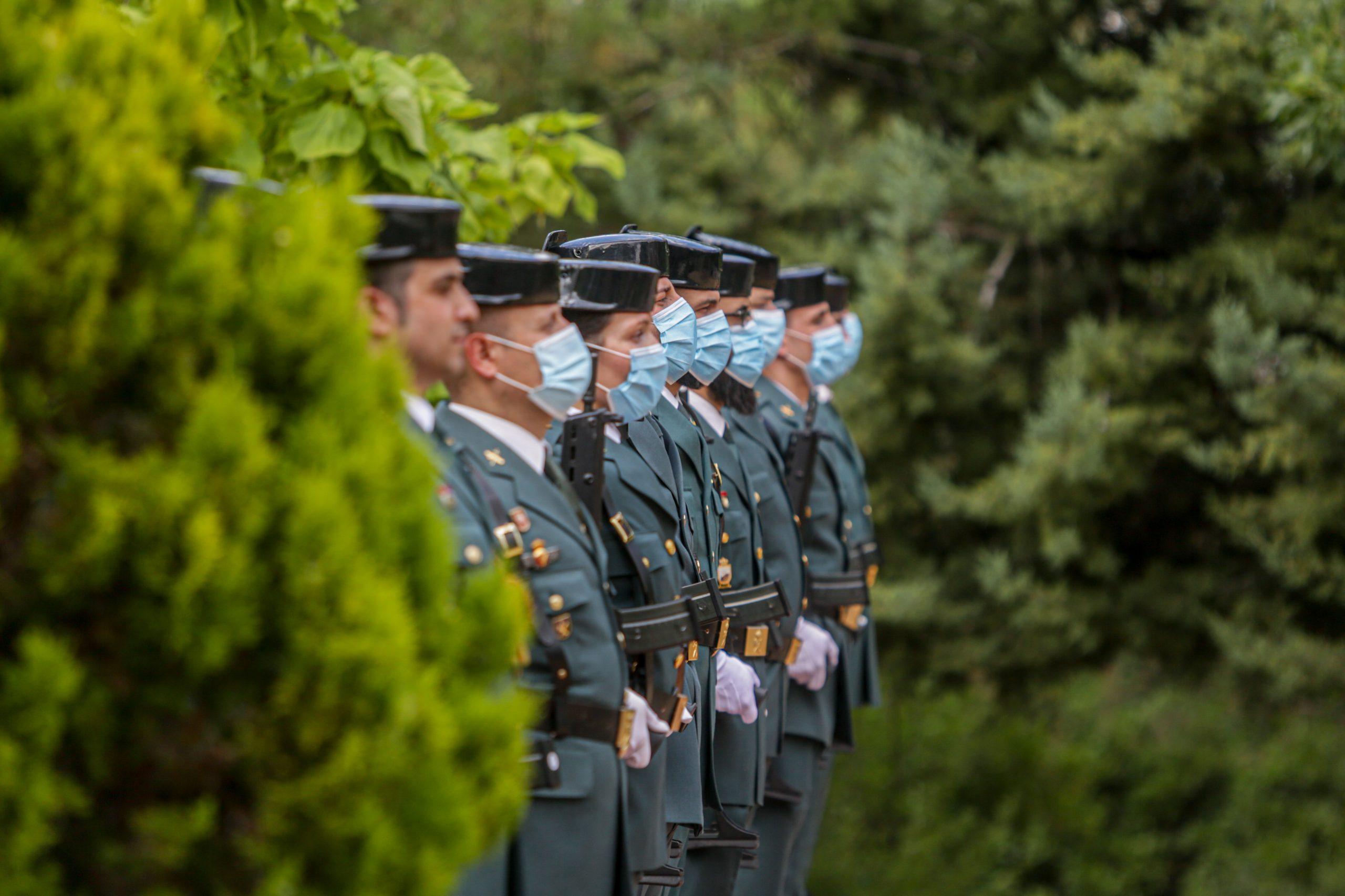 Acto de incorporación de los guardias civiles en prácticas a la Comunidad de Madrid