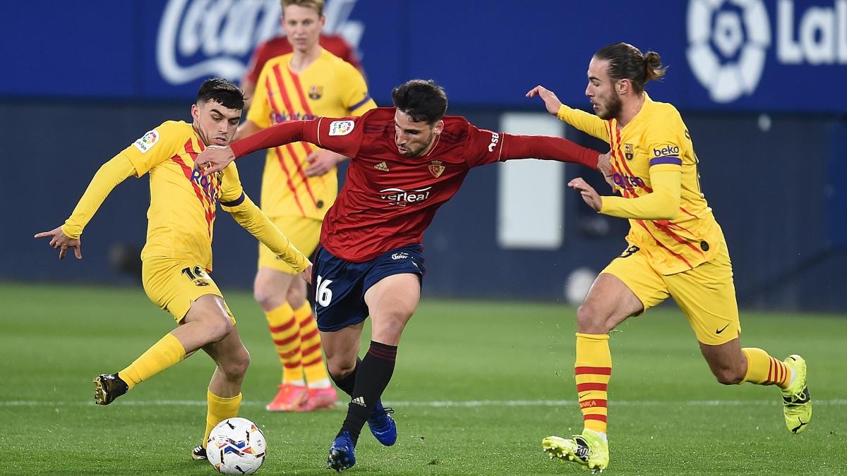 Osasuna – Barcelona: el partido de la Liga Santander, en directo. (Getty)