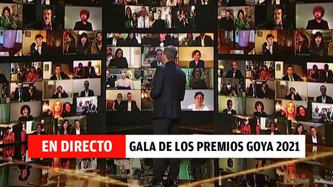 Premios Goya 2021: ganadores de la gala del cine, en directo
