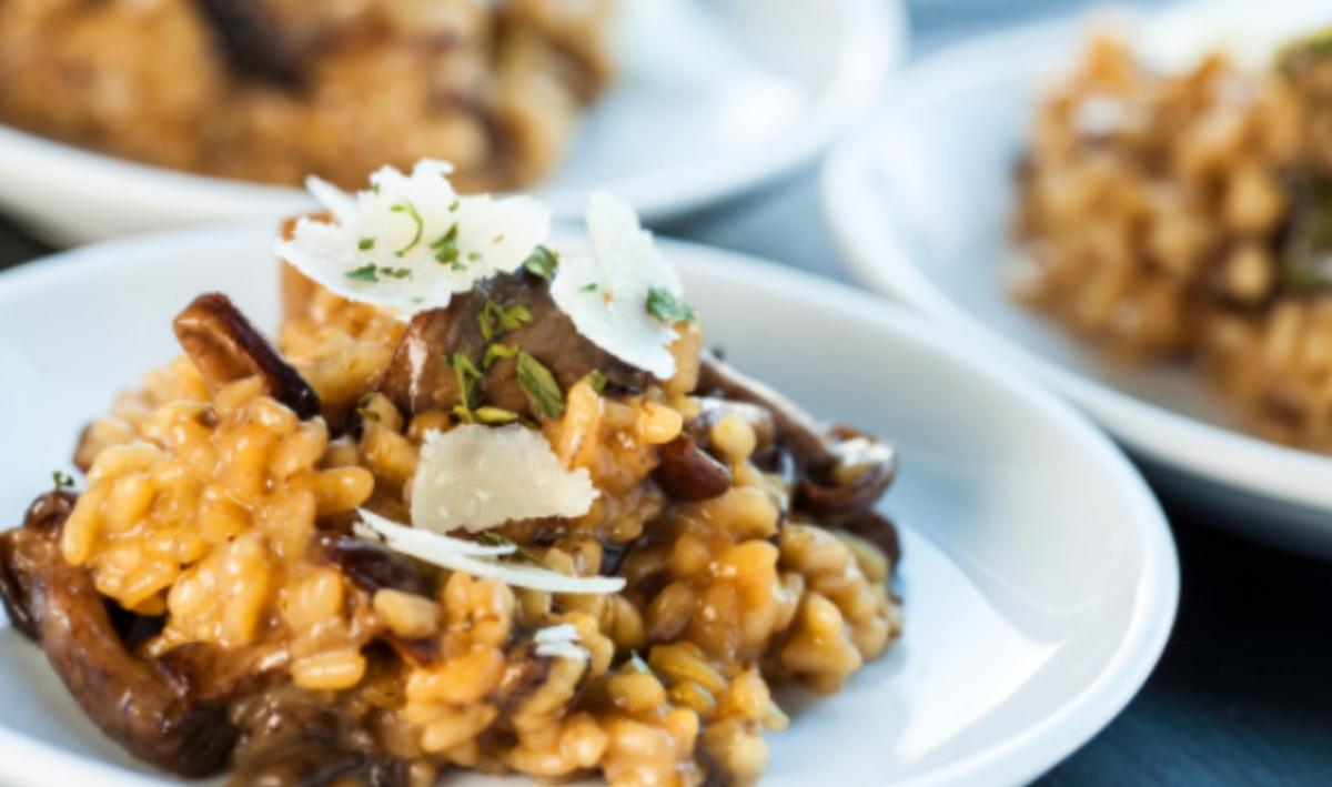 Toma nota de estas 4 recetas de risotto cremoso, delicioso y fácil de preparar