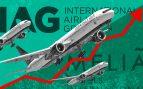 El resurgir en Bolsa de IAG y Meliá: pasan de mínimos a subir a doble dígito por las previsiones del turismo