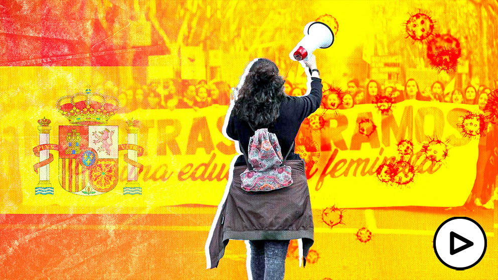 El 8M: un antes y un después de la pandemia en España