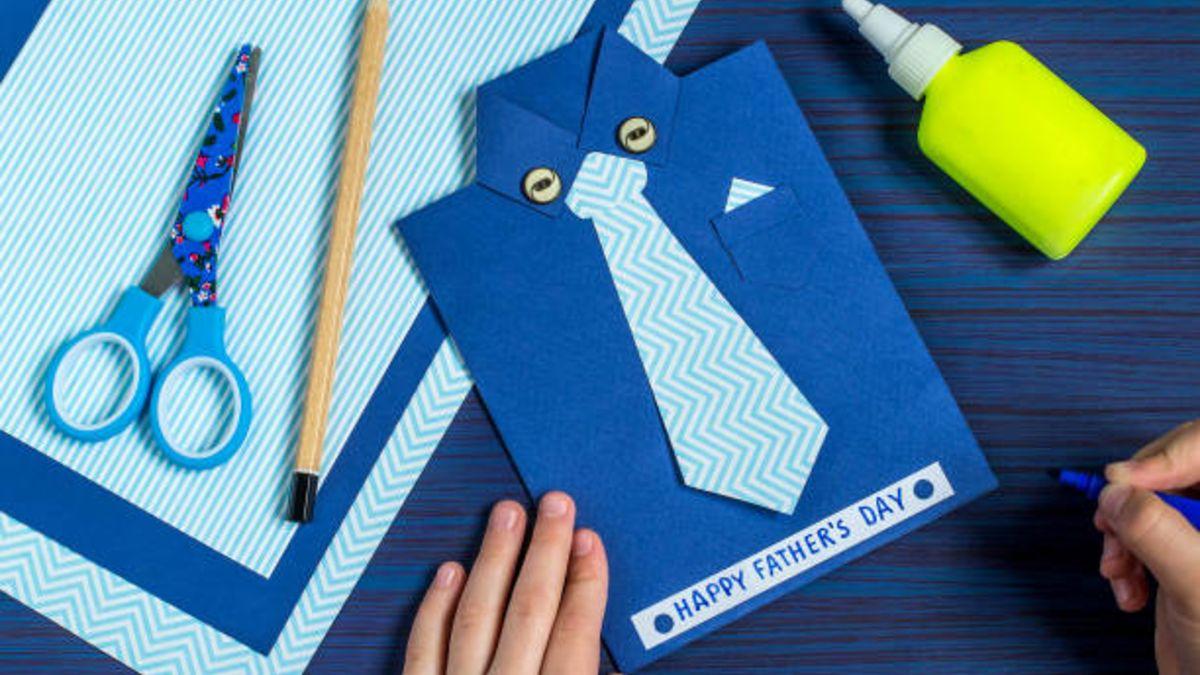 Descubre algunas de las mejores manualidades que los niños pueden hacer para regalar en el Día del Padre