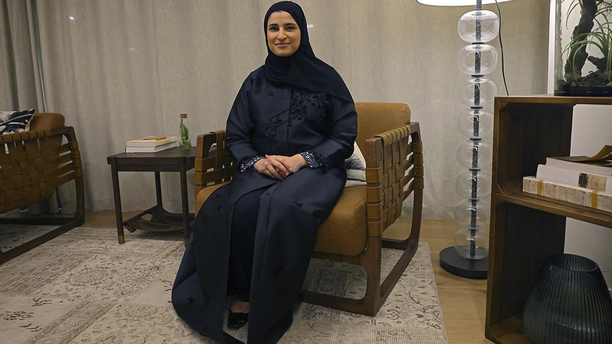 Sarah al-Amiri, ministra de Estado de Tecnología Avanzada de EAU.