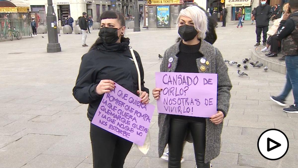 Protesta 8M Puerta del Sol