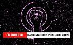 EN DIRECTO: Manifestaciones por el 8 de marzo