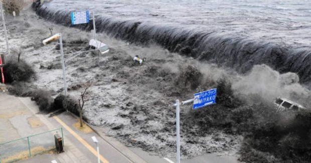 La gran muralla de Japón para combatir los tsunamis