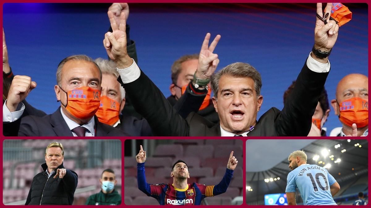 Laporta se enfrenta a nuevos retos en el Barcelona.