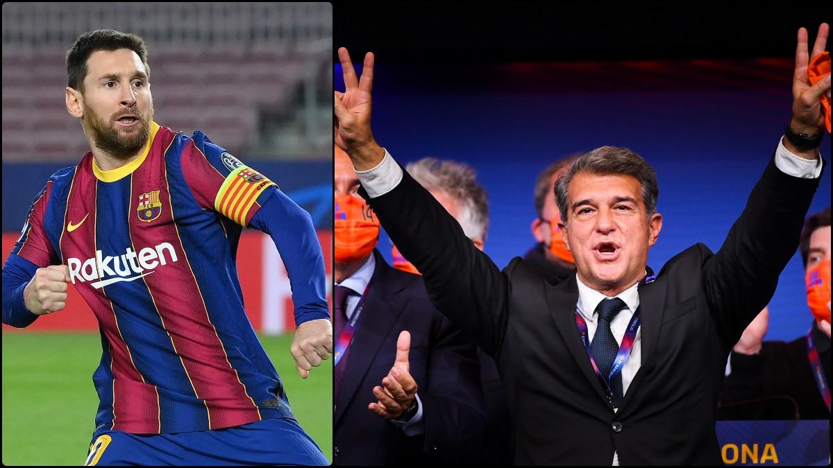 La continuidad de Leo Messi alcanza su cuota más baja en las apuestas sobre su continuidad tras la victoria de Laporta.