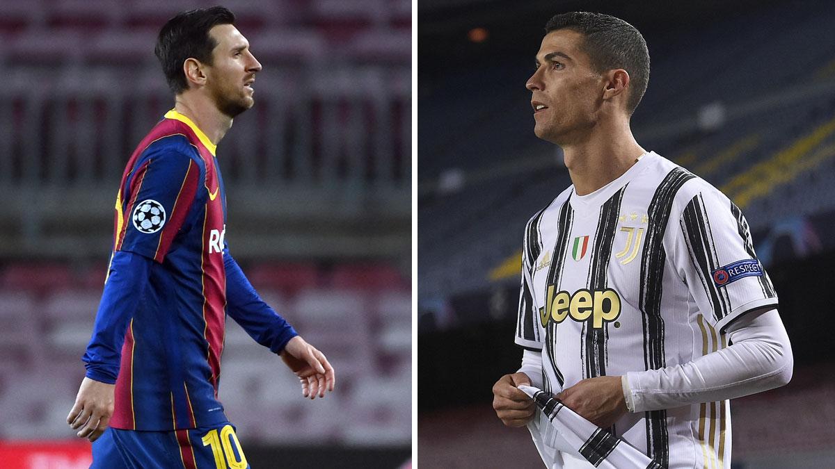 Messi y Cristiano se la juegan esta semana en la Champions League (AFP)