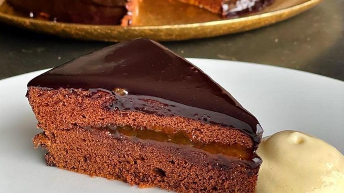 Receta de la tarta Sacher de Jordi Cruz