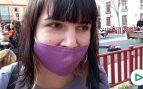 Las reivindicaciones del feminismo radical el 8M en Sevilla: «Si tú me cosificas, yo te crucifico»