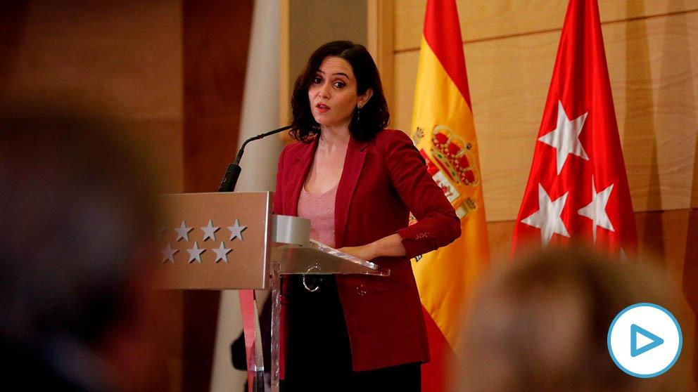 Isabel Díaz Ayuso denuncia una «madrileñofobia nunca vista hasta el momento».