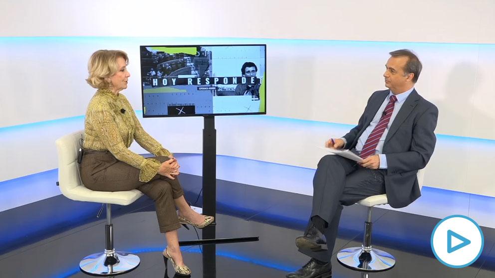 Esperanza Aguirre en HOY RESPONDE de OKDIARIO